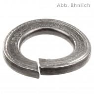 100 Federringe DIN 128 - A4, Form A (gewölbt) M6