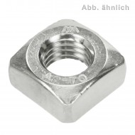 200 Vierkantmuttern DIN 557 Edelstahl A2 M5