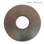 100 Unterlegscheiben DIN 440 Edelstahl A4 Form R - ISO 7094 M10