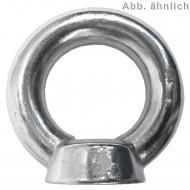 25 Ringmuttern ähnlich DIN 582 Edelstahl A4 M6