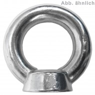 1 Ringmutter ähnlich DIN 582 Edelstahl A4 M20