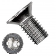 200 Senkschrauben M8 x 16 mm - ISR TX 45 - Edelstahl A2 - DIN 965
