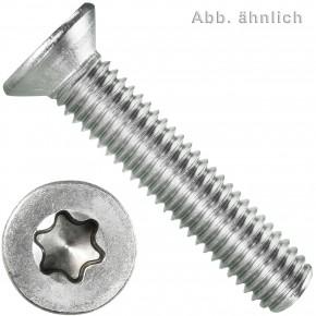 200 Senkschrauben M8 x 20 mm - ISR TX 45 - Edelstahl A2 - DIN 965