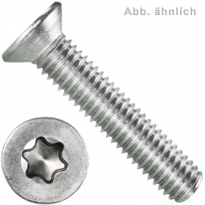 100 Senkschrauben M8 x 45 mm - ISR TX 45 - Edelstahl A2 - DIN 965