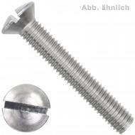 100 Linsensenkschrauben M5 x 40 mm - DIN 964 - Edelstahl A4