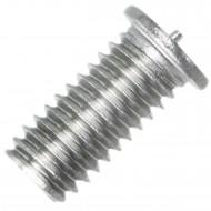 200 Schweißbolzen M6 x 12mm - ISO 13918 - Form PT - Edelstahl A2