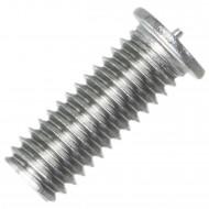 200 Schweißbolzen M6 x 16mm - ISO 13918 - Form PT - Edelstahl A2