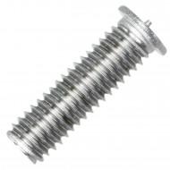 200 Schweißbolzen M6 x 20mm - ISO 13918 - Form PT - Edelstahl A2
