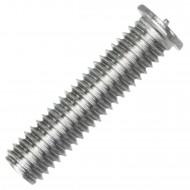 200 Schweißbolzen M6 x 25mm - ISO 13918 - Form PT - Edelstahl A2