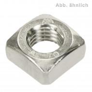 100 Vierkantmuttern DIN 557 Edelstahl A4 M10