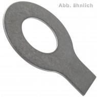 25 Scheiben mit Lappen 10,5 mm - DIN 93 - Edelstahl A2