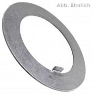50 Scheiben mit Innennase 16 mm - DIN 462 - für Nutmuttern - blank