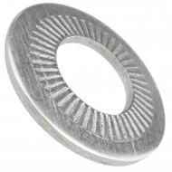 500   AFNOR-Kontaktscheiben gezahnt für M12 - Form M - Edelstahl A2