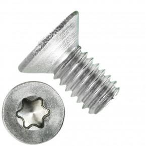 1000 Senkschrauben DIN 965, Edelstahl A4, Torx 8, Senkkopf 2,5 x 5 mm