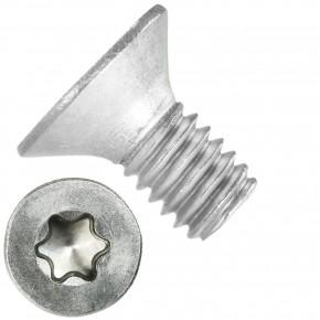 500 Senkschrauben DIN 965, Edelstahl A4, Torx 20, Senkkopf 4 x 8 mm