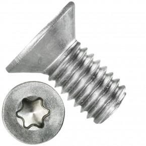 500 Senkschrauben DIN 965, Edelstahl A4, Torx 30, Senkkopf 6 x 12 mm