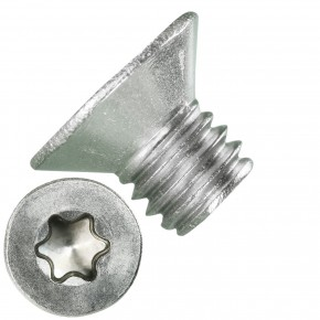 500 Senkschrauben DIN 965, Edelstahl A4, Torx 30, Senkkopf 6 x 8 mm