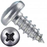 1000 Blechschrauben DIN 7981 - 2,9x6,5 mm - Linsenkopf - Phillips - Edelstahl A4