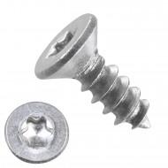 1000 Blechschrauben DIN 7982 – 2,2x6,5mm - Senkkopf – TX6- Edelstahl A2
