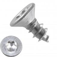 1000 Blechschrauben DIN 7982 – 2,9x6,5mm - Senkkopf – TX8- Edelstahl A2