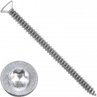 200 Blechschrauben DIN 7982 - 4,8x70mm - Senkkopf – TX25- Edelstahl A2