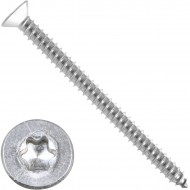 200 Blechschrauben DIN 7982 - 5,5x70mm - Senkkopf – TX25- Edelstahl A2