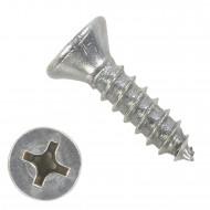1000 Blechschrauben DIN 7982 - 3,5x13mm - Senkkopf - PH - Edelstahl A2
