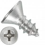1000 Blechschrauben DIN 7982 - 2,9x6,5 mm - Senkkopf - Phillips - Edelstahl A4