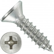1000 Blechschrauben DIN 7982 - 4,2x16 mm - Senkkopf - Phillips - Edelstahl A4