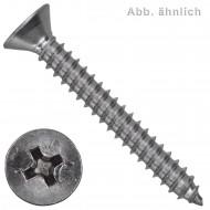 1000 Blechschrauben DIN 7982 - 3,5x13 mm - Senkkopf - Phillips - Edelstahl A4