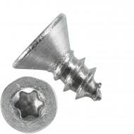 1000 Blechschrauben DIN 7982 - 2,9x6,5 mm - Senkkopf - Torx - Edelstahl A4