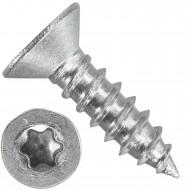 1000 Blechschrauben DIN 7982 - 3,5x16 mm - Senkkopf - Torx - Edelstahl A4