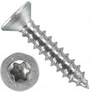 1000 Blechschrauben DIN 7982 - 3,5x19 mm - Senkkopf - Torx - Edelstahl A4