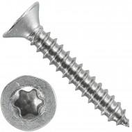 1000 Blechschrauben DIN 7982 - 3,5x22 mm - Senkkopf - Torx - Edelstahl A4
