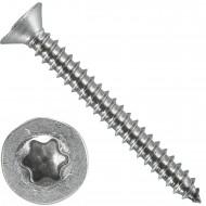 1000 Blechschrauben DIN 7982 - 3,5x32 mm - Senkkopf - Torx - Edelstahl A4