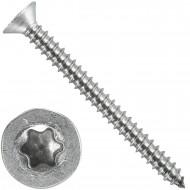 1000 Blechschrauben DIN 7982 - 3,5x38 mm - Senkkopf - Torx - Edelstahl A4