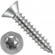 1000 Blechschrauben DIN 7982 - 4,2x22 mm - Senkkopf - Torx - Edelstahl A4