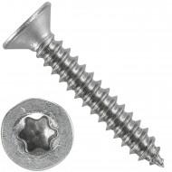 1000 Blechschrauben DIN 7982 - 4,2x25 mm - Senkkopf - Torx - Edelstahl A4