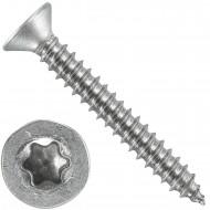 500 Blechschrauben DIN 7982 - 4,2x32 mm - Senkkopf - Torx - Edelstahl A4