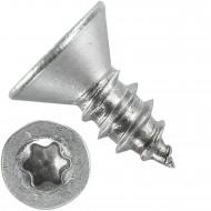 1000 Blechschrauben DIN 7982 - 5,5x13 mm - Senkkopf - Torx - Edelstahl A4