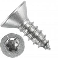 1000 Blechschrauben DIN 7982 - 5,5x16 mm - Senkkopf - Torx - Edelstahl A4
