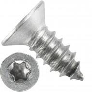 500 Blechschrauben DIN 7982 - 6,3x13 mm - Senkkopf - Torx - Edelstahl A4
