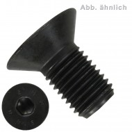 100 Senkschrauben M6 x 25 mm - ISO 10642 - Innensechskant - 8.8 blank