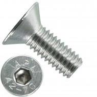 1000 Senkschrauben M 3 x 8 mm  - ISO 10642 - Innensechskant - Edelstahl A2