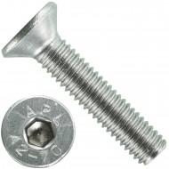 1000 Senkschrauben M 3 x 14 mm  - ISO 10642 - Innensechskant - Edelstahl A2