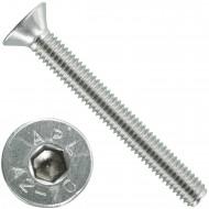 1000 Senkschrauben M 3 x 25 mm  - ISO 10642 - Innensechskant - Edelstahl A2