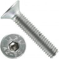 500 Senkschrauben M 4 x 20 mm  - ISO 10642 - Innensechskant - Edelstahl A2