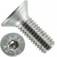 500 Senkschrauben M 5 x 12 mm  - ISO 10642 - Innensechskant - Edelstahl A2