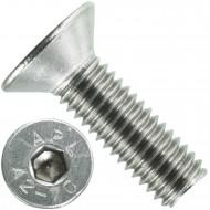 500 Senkschrauben M 5 x 16 mm  - ISO 10642 - Innensechskant - Edelstahl A2