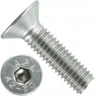 500 Senkschrauben M 5 x 18 mm  - ISO 10642 - Innensechskant - Edelstahl A2